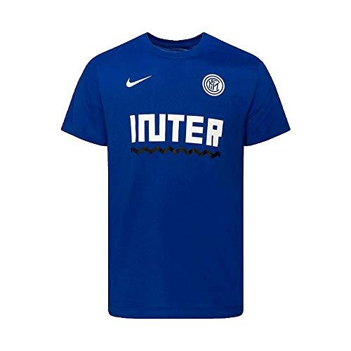 Nike Herren T-Shirt Inter M Nk Dry Tee Core Match, Rush Blue, XL, CD1231