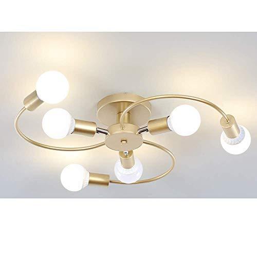 Ronde ijzeren plafondlamp, moderne verstelbare plafondlamp met draaibare arm, slaapkamer, woonkamer, keuken, eetkamer, werkkamer, hal, kroonluchter, lamp, wandlamp, verlichting, lamp inbegrepen, PHgr; 57 cm, zwart
