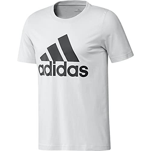 adidas Men's Badge of Sport Tee, White, Medium