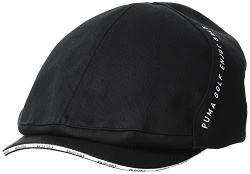 [プーマ] ハンチング ゴルフ ツイルハンチング メンズ 866568 プーマブラック 日本 OneSize (FREE サイズ)