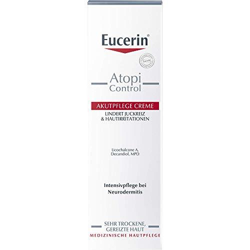Eucerin AtopiControl Akutpflege Creme lindert Juckreiz, 40 ml Creme
