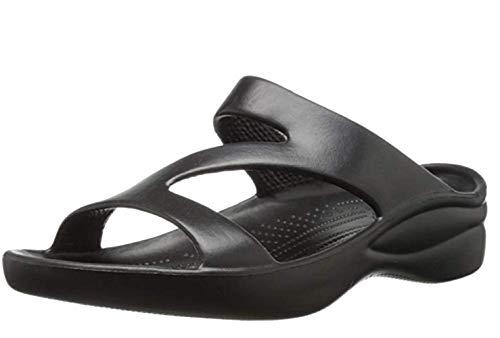 DAWGS Ladies Z Sandal,Black,9 M US