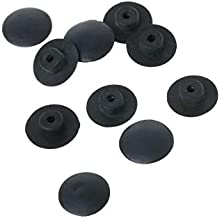 Purra145 Bike Waterproof Cover 10Pcs Bicycle Headset Cap Waterproof Dust-Proof Top Cover