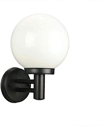 Wandleuchte Beleuchtung Wandleuchte Vintage Wand Wandleuchte, mattschwarz Globus Waschbecken Lampe im Badezimmer Schlafzimmer