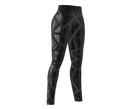 Smmash Crossfit Compression Damen Leggings LANG VITRAGE (M)