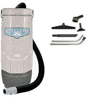 Sandia 70-1001, Avenger Raven 6 Quart Backpack Vacuum with 5 pc Standard Tool Kit, 6.8 Amps, 115 Volt, 1 Stage 802 Watt Motor