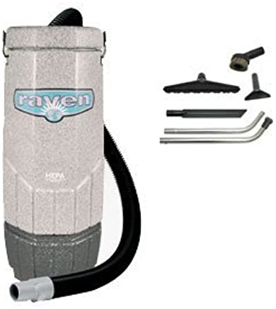 Sandia 70-1001, Avenger Raven 6 Quart Backpack Vacuum with 5 pc Standard Tool