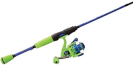Lews Fishing WMSS10060ML Wally Marshall Speed Shooter Spinning Combo, 5.1: Ratio, 4+1 Bearings, 6' Length, 1Piece, Medium/Light Power. Ambidextrous