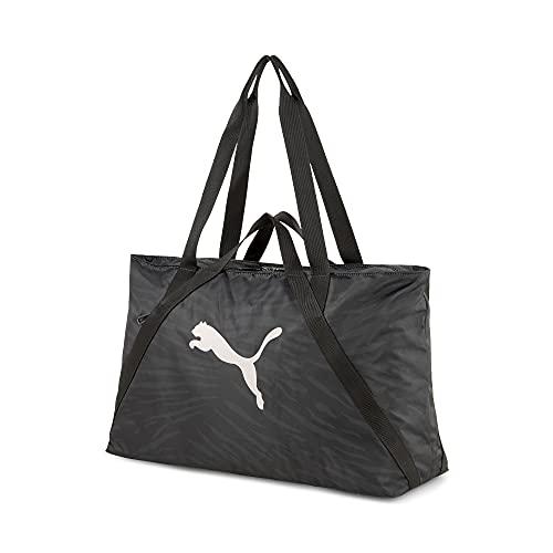 PUMA Damen at ESS Shopper Tasche, Schwarz, Einheitsgröße