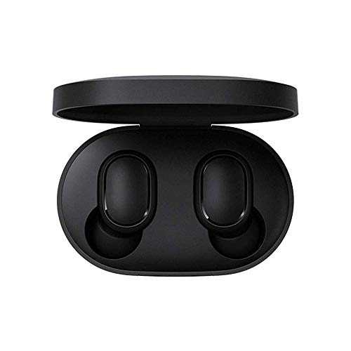 Redmi Airdots Earphones Bluetooth 5.0 with Google Voice Assistant, Bluetooth Headphones 12h Playtime True Earphones Earbuds with Portable Charging Case
