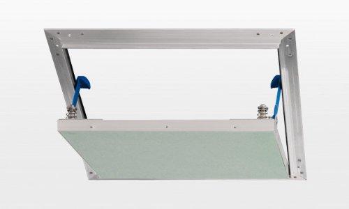Revisionsklappe AluPlana 200x200mm spachtelfrei, luft- und staubdicht