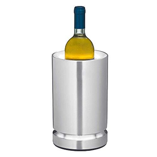Cubo De Hielo De Acero Inoxidable, Champán, Vino, Enfriador De Vino, Paquete De Hielo, Fiesta En Casa, Congelador para Fiestas, Diseño De Pared Más Gruesa,1
