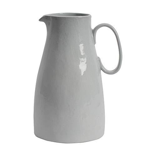 ProCook Malmo Krug - Steinzeug - Taubengrau - handgearbeitetes Design - Steingut - Servier-Kanne - Wasserkrug -