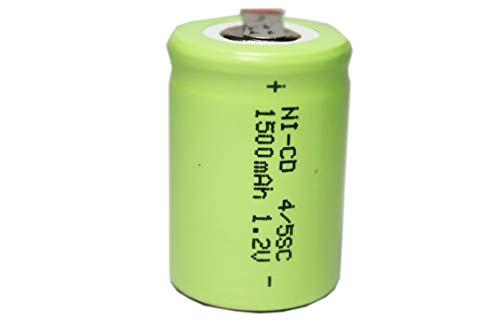 正規容量 国内から発送 22.5x34mm NI-CD 4/5 SC ニカド ニッカド タブ付 ラジコン 電動RC ドライバー ドリル 工具 掃除機 電動インパクト 充電池 バッテリー