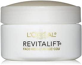 L'Oreal Revitalift Face & Neck Anti-Wrinkle & Firming Moisturizer Day Cream 1.70 oz (Pack of 5)