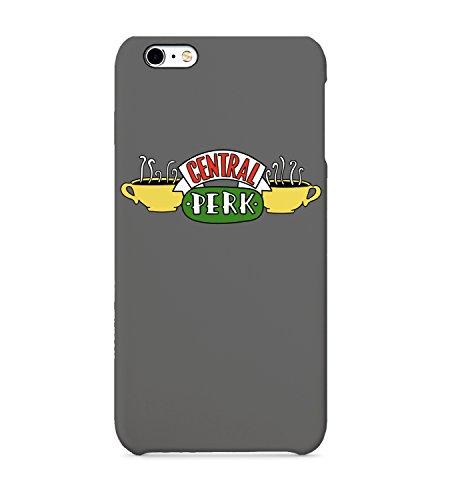 Central Perk Friends - Carcasa rígida de plástico para iPhone, Samsung Galaxy y Huawei, policarbonato plástico, iPhone 6 Plus