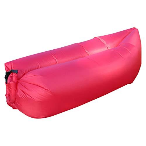 Hamaca Inflable con cojín de Aire para sofá de Aire, Tela Resistente al desgarro Duradera, con Kit portátil, Adecuada para Viajes, campamentos, Caminatas, Fiestas en la Piscina y en la Playa