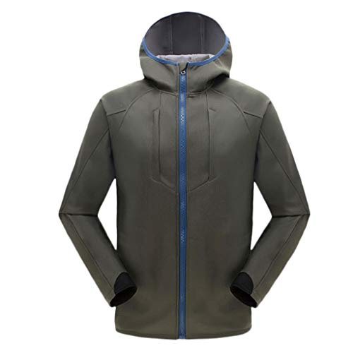 Learn More About Men's Hooded Jacket Solid Softshell Windproof Waterproof Climbing Mountain Ski Rain...