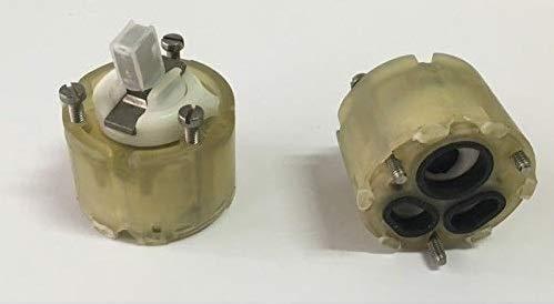 Ideal Standard, Keramikkartusche für  Einhebelmischer von Ceramix, Durchmesser: 47 mm - Die Kartusche wird ohne Schrauben verkauft. - Geeignet für die Modelle Ceramix (von 1984 bis 1991)