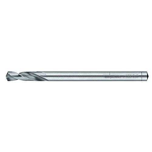 Alpen 63800600100 Spiralbohrer für Edelstahl-Bleche/Hardox WN HSSE 6,00 mm, silber, 6 mm