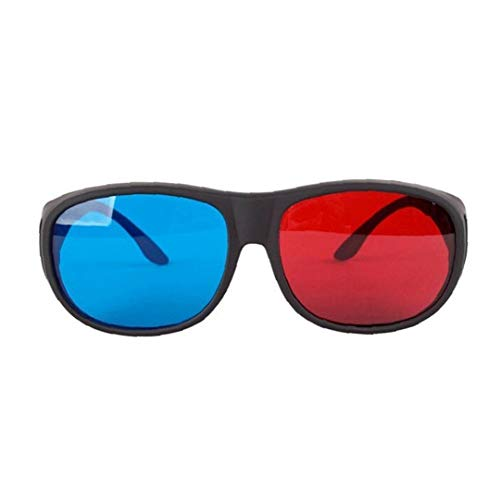 LAANCOO 3D Glasses Red Blue (3D Anaglyph Glasses), quality 3D glasses for 3D PC games, 3D pictures, 3D movies, 3D projection, 3D vide, Extra Upgrade Style for Men Women