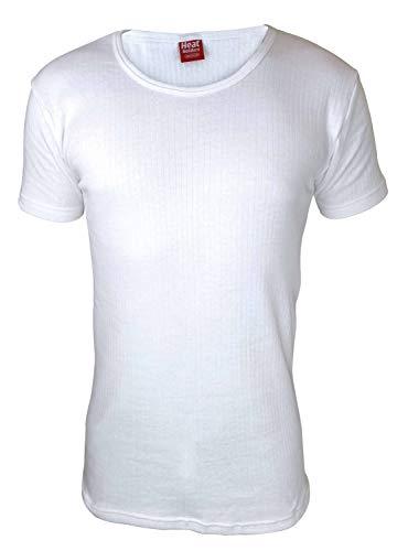 "HEAT HOLDERS - Herren Thermo Innenfleece Outdoor Kurzarm Unterhemd (Medium (38-40\"" Chest), White)"