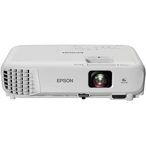 Epson EB-S05 Videoproiettore SVGA 3LCD, HDMI, 3.200 Lumen, Contrasto 15.000:1, WI-FI opzionale, Lampada UHE di Lunga Durata, Immagini fino a 350