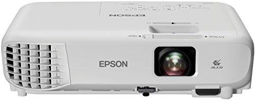 Epson EB-S05 Videoproiettore SVGA 3LCD, HDMI, 3.200 Lumen, Contrasto 15.000:1, WI-FI opzionale, Lampada UHE di Lunga Durata, Immagini fino a 350'