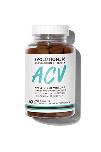 Evolution_18 Apple Cider Vinegar Gummy | Supplements for Healthy Digestive Support | 60 Gummies