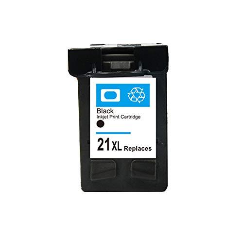 DYYPPWW Compatible 21XL 22XL Cartucho de Tinta, Alto Volumen de Impresión Reemplazo,para HP Deskjet 3910 3915 3920 3930 Impresora,Negro