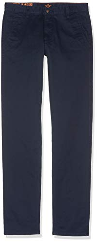 dockers Herren Alpha Original Khaki Slim - Lite Hose, Blau (Pembroke 0435), W34/L34
