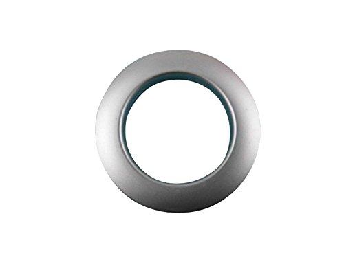 heimtexshop24 Kunststoffösen 55mm Silber MATT Ösen Gardinenösen Stoffösen Dekoösen TOP Optik KE 8241/40 13.18 (8 STK)