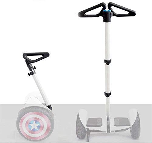 FEC Verstellbarer Lenker-Ständer, Kniedruck für Segway Ninebot MiniPRO MiniLITE S Self Balance Hoverboard (nur Lenker), Silber-A2
