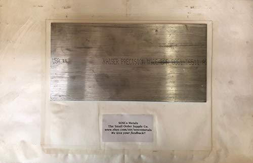 "SOSCo Metals 1/4"" X 4"" Aluminum 6061 T6511 Extruded Solid Flat BAR 14"" Long, New .250"" Sheet Plate Mill Stock"