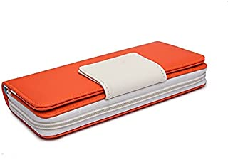 HIIHHIIHIqb Wallet Purse, Women Wallets Card Holder Distaff Clutch Women's Purse Coin Money Bag Walet (Color : Orange)