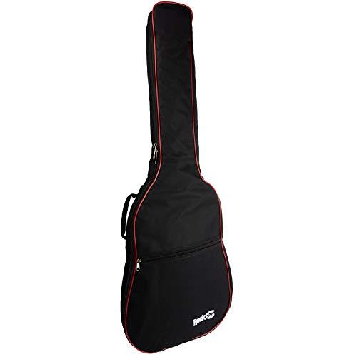 Rockburn Delux imbottite chitarra borsa per Chitarre Elettriche - Nero