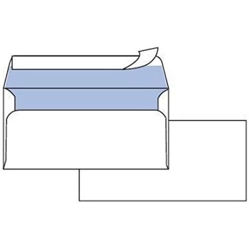Pigna 0593022, Buste (90 g/m², 110 mm, 23 cm), Bianco