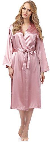 Merry Style Bata Ropa de Casa Lenceria Mujer MSFX798 (Rose, XL)