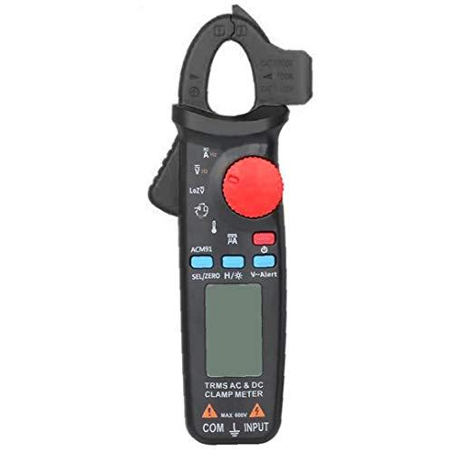 Berrywho Multímetro Digital Multi probador del amperímetro del voltímetro Ohmímetro AC/DC Ohm voltios amperios y Voltaje del Metro del probador de diodos
