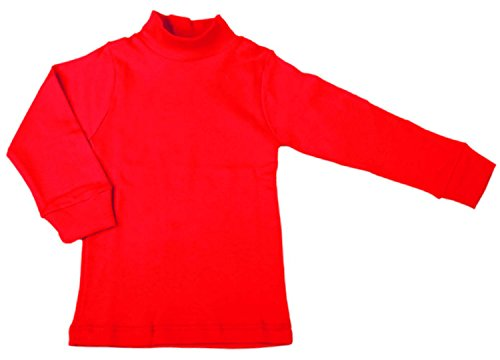 BabyVip - Body Polo Cuello Alto para niño y niña, Estilo básico, 100% algodón, Jersey algodón