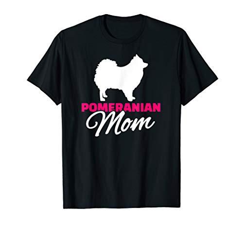 Pomeranian Zwergspitz Mama T-Shirt