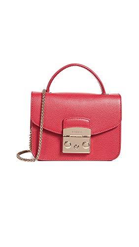 Furla - 862651, Shoppers y bolsos de hombro Mujer, Rojo (Ruby), 6.5x12x16.5 cm (B x H T)