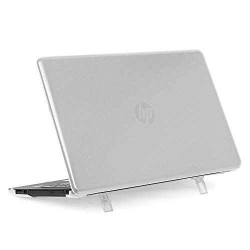 mCover Hard Shell Case for 15.6' HP 15-bsXXX ( 15-bs000 to 15-bs999 ) Series or HP 15g-brXXX or HP 15q-buXXX Series ( NOT Fitting 15' Pavilion or Envy laptops ) Notebook PC (HP 15-BS Clear)