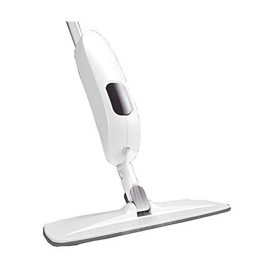 nuli Microfibre étage Vaporiser Mop avec Bouteille Rechargeable, Convient for planchers de Bois Franc, Bois, tuiles, Laminates