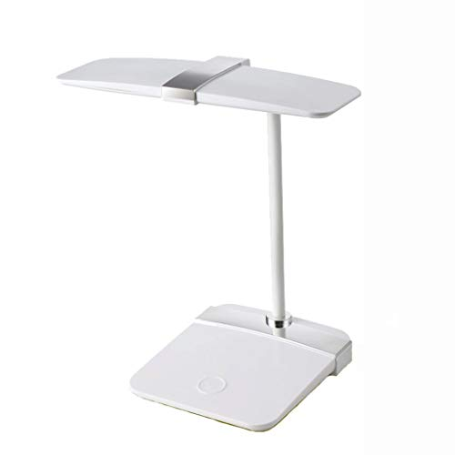 DIAOD LED-Arbeitsplatzleuchte, Memory-Funktion, hochverstellbare Büroleuchte/Werkbankleuchte (Color : Silver)
