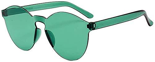 SFHTFTRGJRYJ Damen Herrenmode Klar Retro Sonnenbrille Frameless Mode Living Eyewear Brille Rahmenlose Durchsichtige Mit Durchsichtiger In Europa Und Amerika Wurden Bonbonfarben Sonnenbrillen Integrier