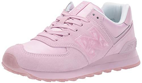 New Balance 574 Wnu De La Zapatilla De Deporte De Las Mujeres-Rosa - Zapatos Deporte Zapatos Zapatillas De Deporte, 36.5, Rosa