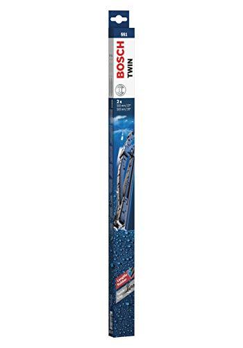 Bosch Twin Escobilla limpiaparabrisas 551, Longitud: 550 mm 500 mm – 1 juego para el parabrisas (frontal)