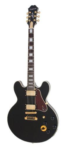 Epiphone B. B. King Lucille Signature Semi-Hollow-Body E-Gitarre (Laminat Ahorn Korpus, Laminat Ahorndecke, Alnico Classic Humbucker Pickups, Palisander Griffbrett, 24.75 Mensur)