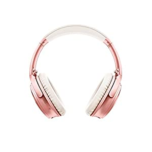 Bose QuietComfort 35 II Wireless Bluetooth Headphones, Noise-Cancelling, with Alexa Voice Control - Rose Gold